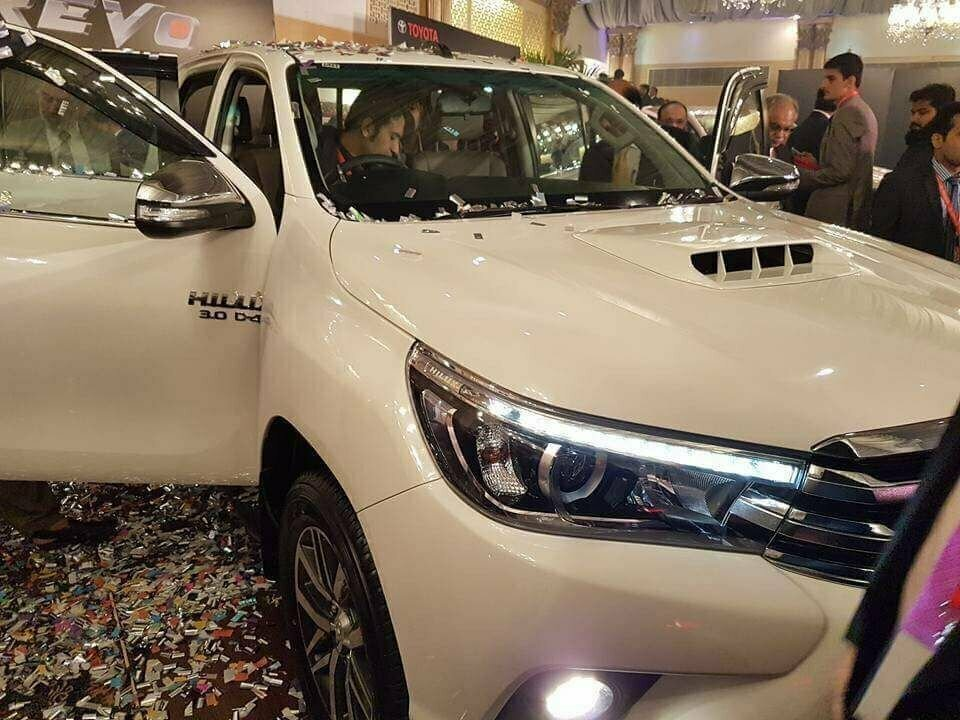 Toyota Hilux Revo Launched In Pakistan Specs Features
