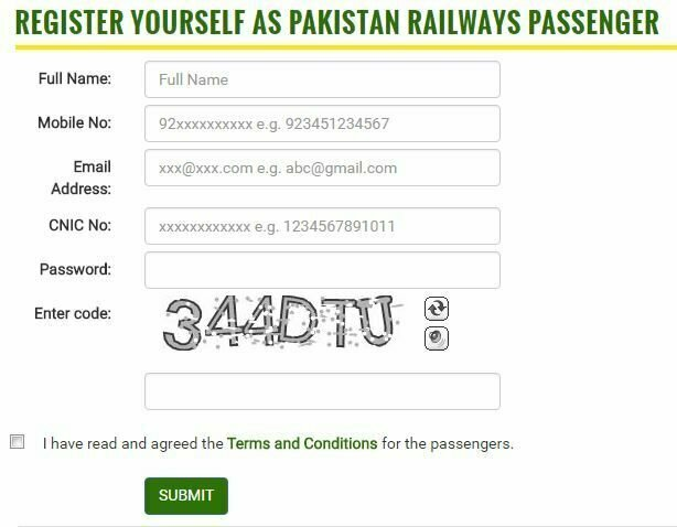 Pak Railway Online Ticket Reservation System: How to Book Online