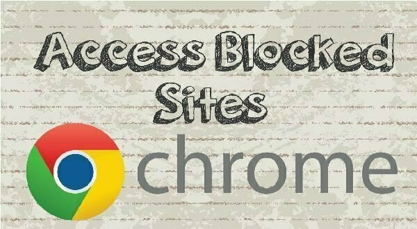 How To Open Blocked Sites In Pakistan Using Chrome | Web pk