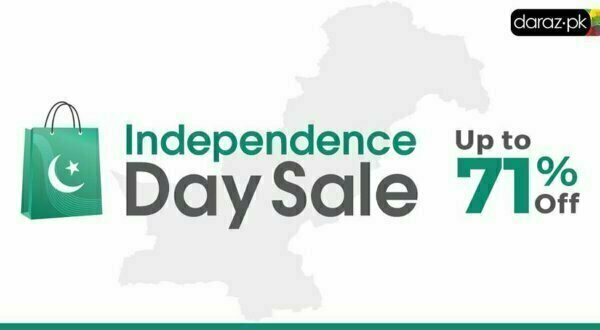 Daraz Independence Day 2018 Sale offers discounts up to 71%, what is